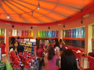 M & M World! Any color you could imagine is here...